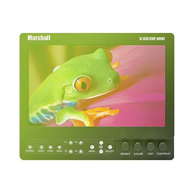"Marshall V-LCD70XP-HDMI 7"" LCD Field Monitor"