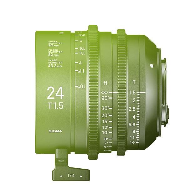 Sigma 24mm T1.5 FF High Speed Prime Cine Lens - EF Mount