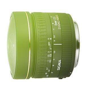 Sigma AF 8mm f/3,5 EX DG FishEye circular Canon