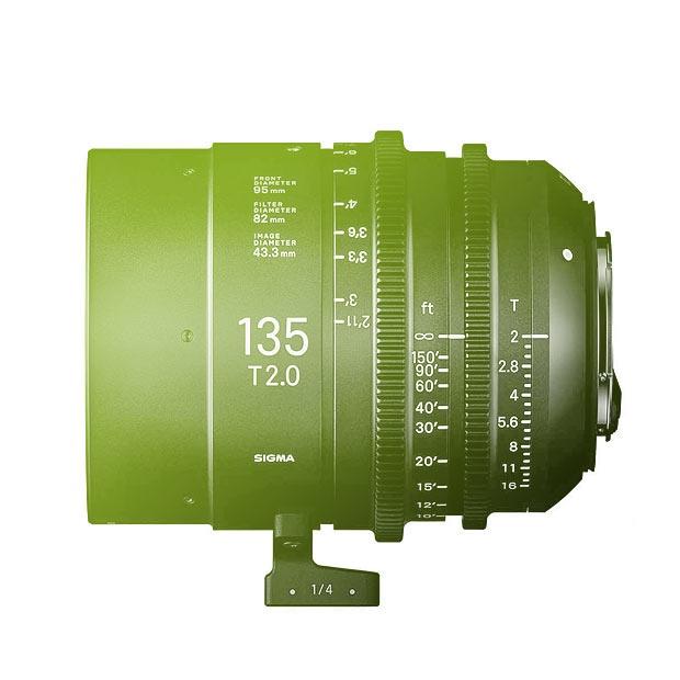 Sigma 135mm T2 FF High Speed Prime Cine Lens - EF Mount