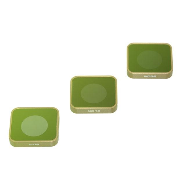 Set filtrů PolarPro ND pro GoPro Hero5 / Hero6 / Hero7 Black (ND8, ND16, ND32)