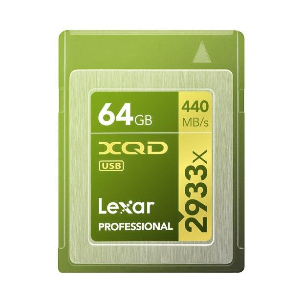 Lexar XQD 2.0 Card 64GB 2933x Professional