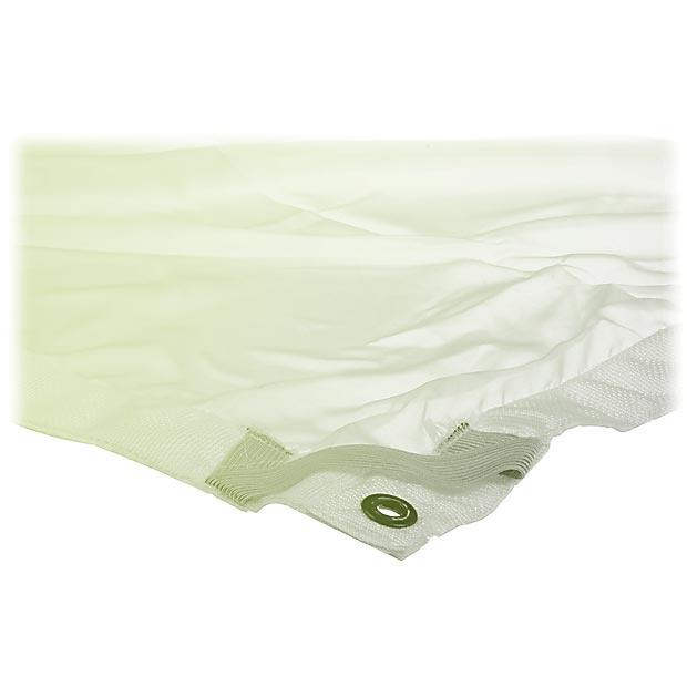 12x12' White 1/4 Stop Silk výplň (3,6x3,6m)