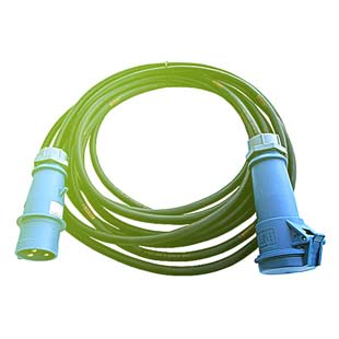Power extension cord 10m CEE 32A 230V 3P