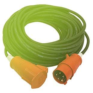 Prodlužovací 50m kabel CEE 32A 380V/400V 5P