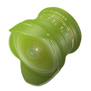 Samyang 12mm T3.1 ED AS NCS VDSLR Fisheye pro Canon