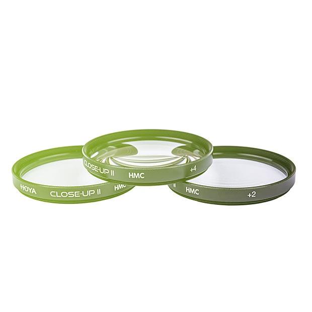Hoya 82mm Close-up Diopter Lens Set (+1, +2, +4)