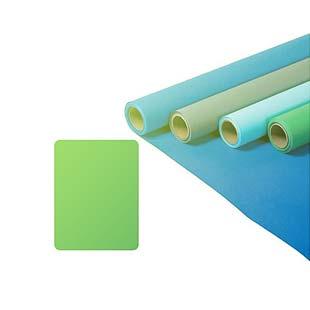 Greenscreen papírové pozadí 2,72x11m (300Kč + 300kč za každý spotřebovaný metr)