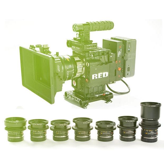 Set Leica R cine + RED Epic MX