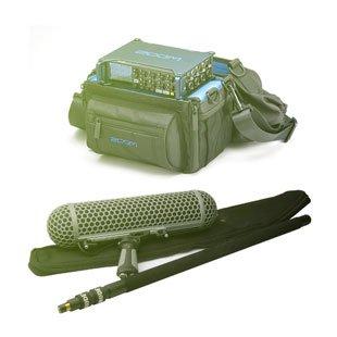 Zvukařský set standard - tágo Rode Boompole PRO (ex G5-4M MKII) + blimp, Sennheiser ME67 / ME66, rekordér Zoom F8 (bundle)
