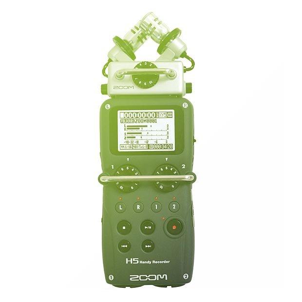 Zoom H5 audio rekordér