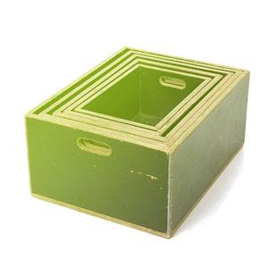 Hokry - skládácí bedýnky - apple boxes 3ks od 60x30x25cm