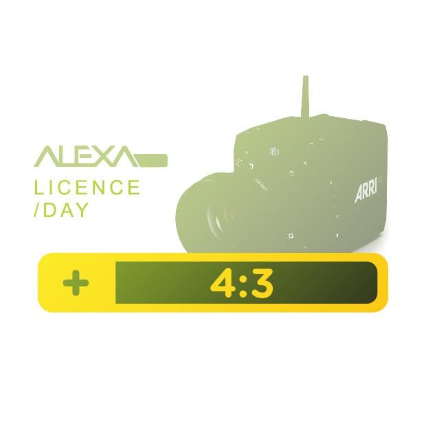 ALEXA Mini 4:3 License Key