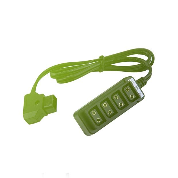 D-tap Splitter 4-Way Cable Converter