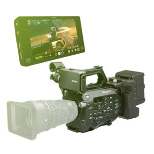 Sony FS7 + XDCA + Atomos Shogun + přísl. (bundle)