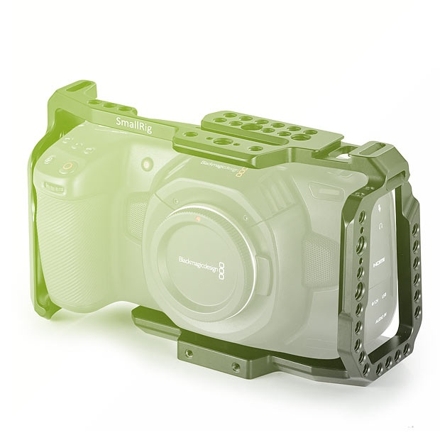 BMPCC 4K Cage for Blackmagic Design Pocket Cinema Camera 4K