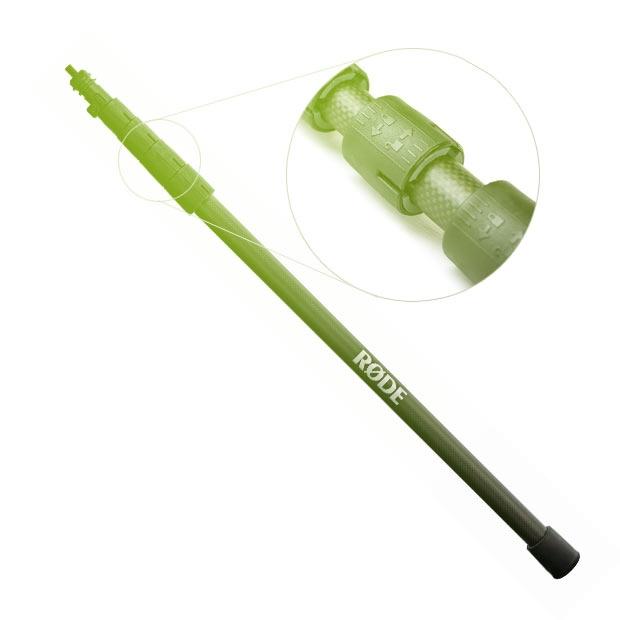 Rode Boompole Pro (ex Rycote G5-4M MKII) mikrofonní tyč / boom pole 3,0m