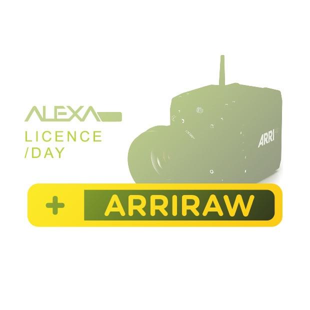 ALEXA Mini ARRIRAW License Key