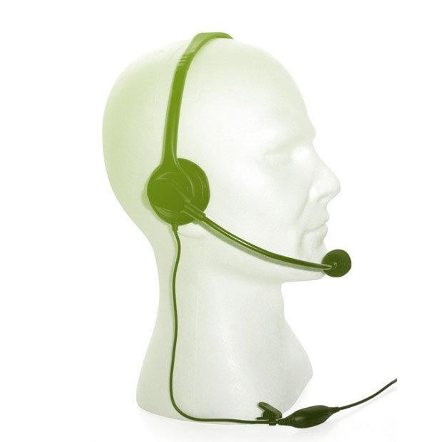 Overhead boom headset for CP040 / CP140