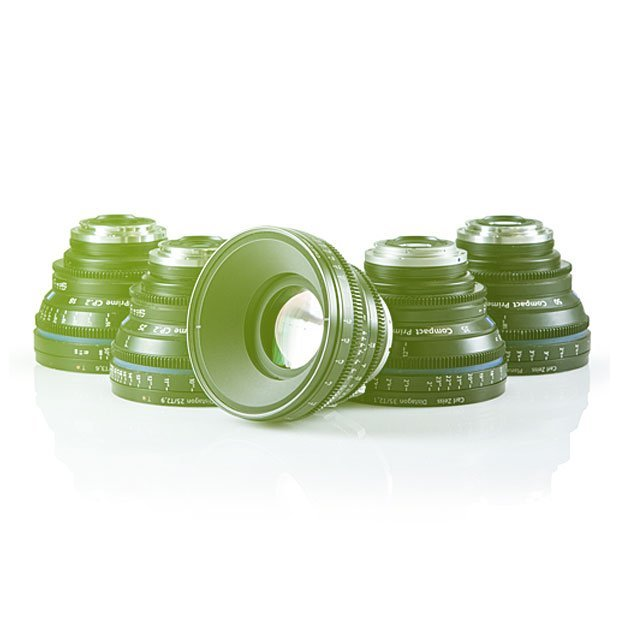 ZEISS Compact Prime CP.2 Super Speed Lenses set objektivů (15mm, 21, 35mm, 50mm, 85mm, 100mm macro)