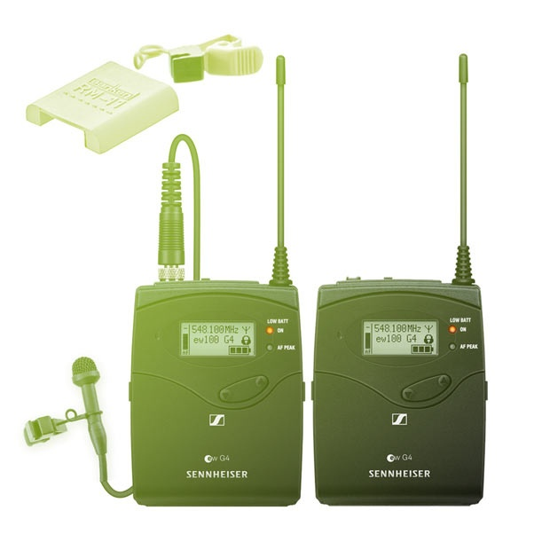 Sennheiser set EW-112 G4 (trasmiter + reciever) + Sanken Cos11
