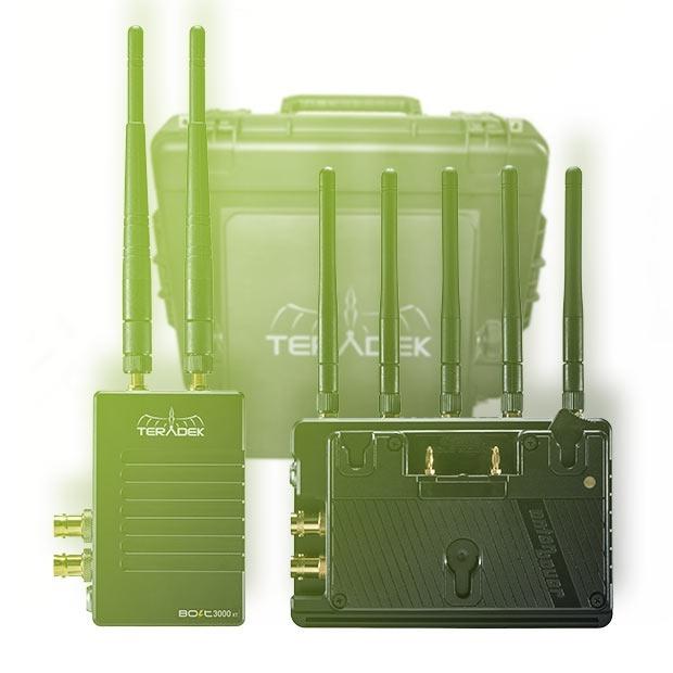 Teradek Bolt Deluxe V-Mount 1000 XT SDI / HDMI Wireless Video Transceiver Set (300m)