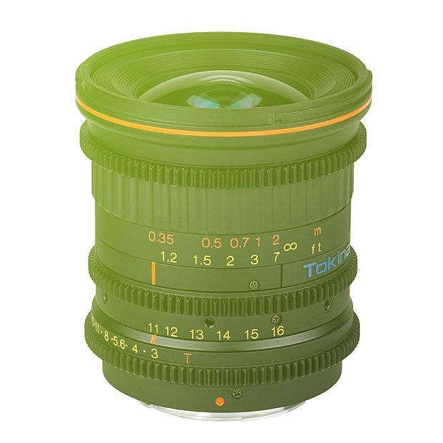 Tokina Cinema 11-16mm T3.0 (f2.8) EF