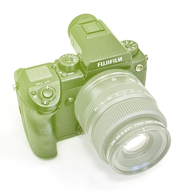 Fujifilm GFX 50S středoformát